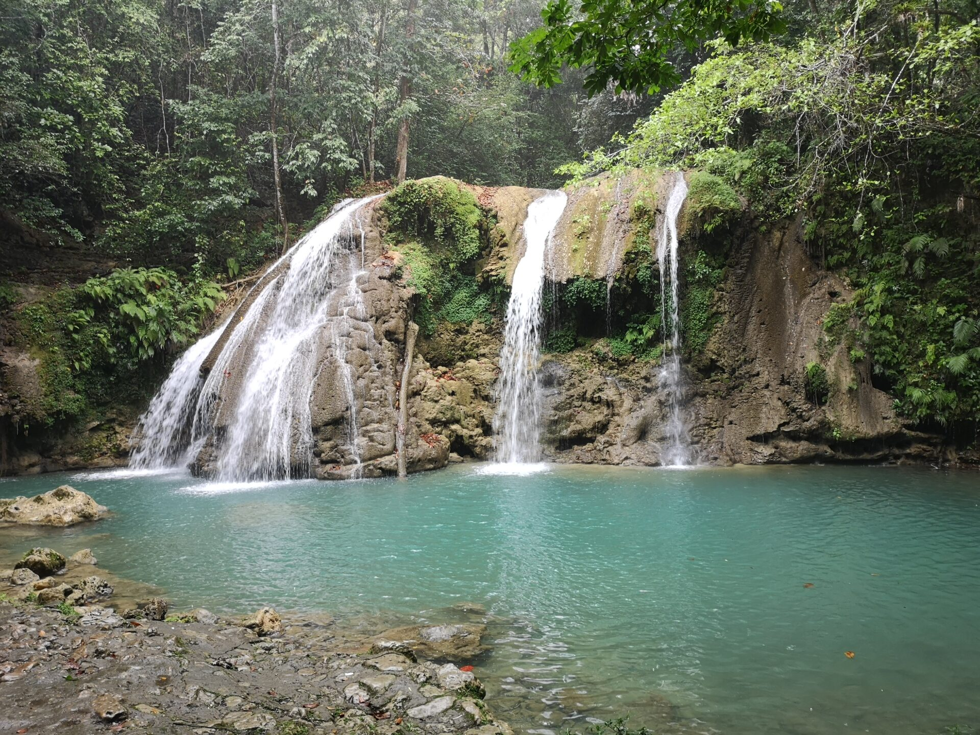 Waterfall in the Dominican Republic