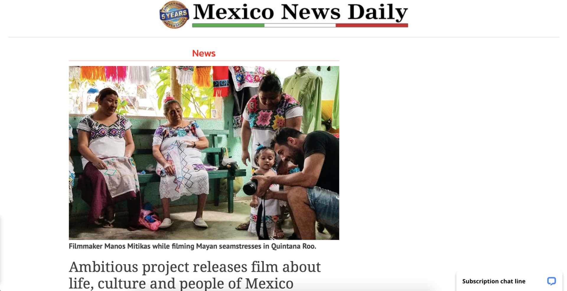 Mexico News Daily header